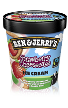 Produktbild Ben & Jerry's Strawberry Cheesecake